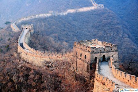 vistas de la muralla china